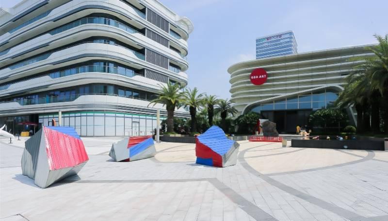 第三届大湾区生活艺术节在广州南沙开幕,汇集30件艺术作品