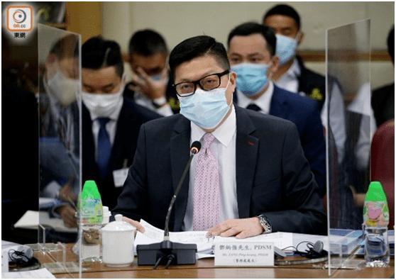 邓炳强:香港国安法实施至今已拘捕逾20人,其中2人被检控