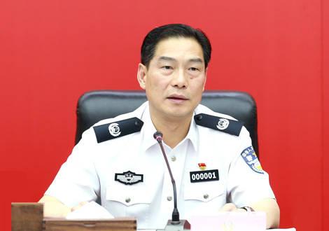 重慶市公安局迎新掌門,胡明朗重慶履職后主持了一場重要會議