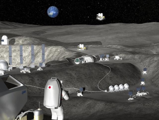 日本计划在2030年代建造月面工厂,为往返月球航天器提供燃料