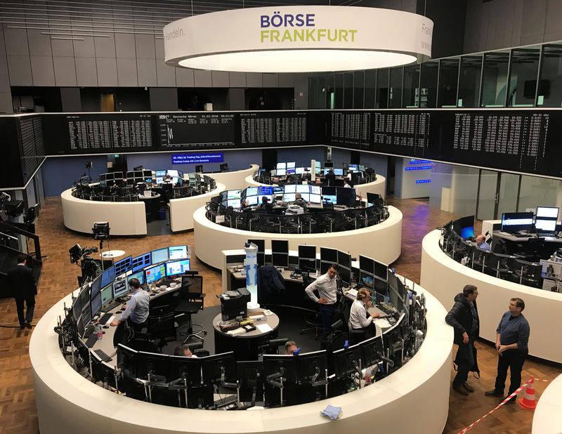 德国股市收低;截至收盘DAX30下跌0.33%