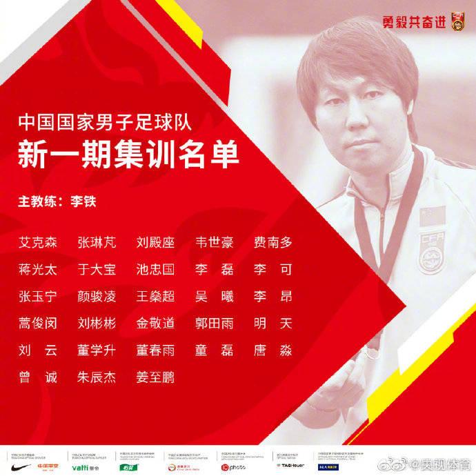 刘芸因伤退出国家足球训练 吴兴涵加入了这个团队