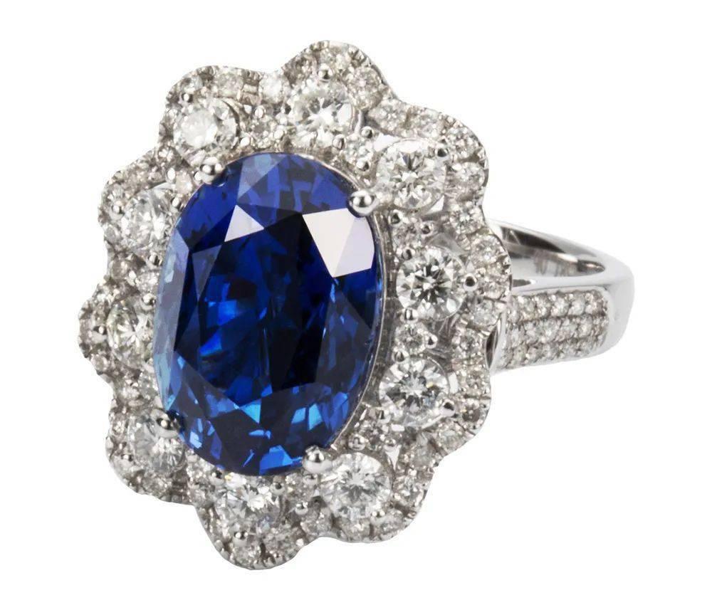 10克拉蓝宝石将在第三届进博会中国首发,价值3000万元