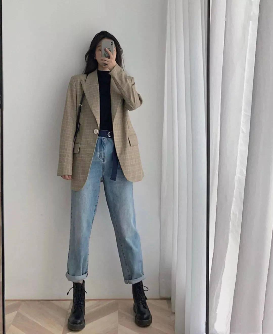 马丁靴+裙子,马丁靴+工装裤……又酷又撩,时髦炸了!     第38张