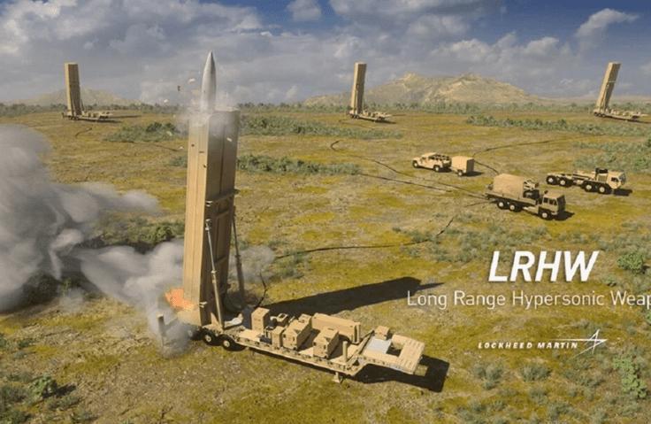 洛•马公布首张陆军高超音速武器合成图可数分钟内打击全球任何地点