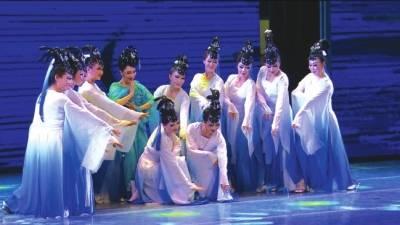 全国中老年西域文化城市风情展演在敦煌举办