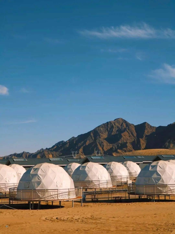 超难订到的沙漠营地:全年限时开放,落日观星美爆了 !