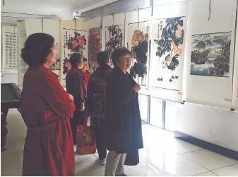 霸州市举办老年人书画展
