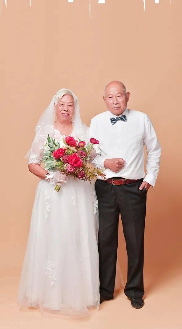"""迟到50年的婚纱照,却是爱情最美的模样!如何经营一段""""金婚""""?"""