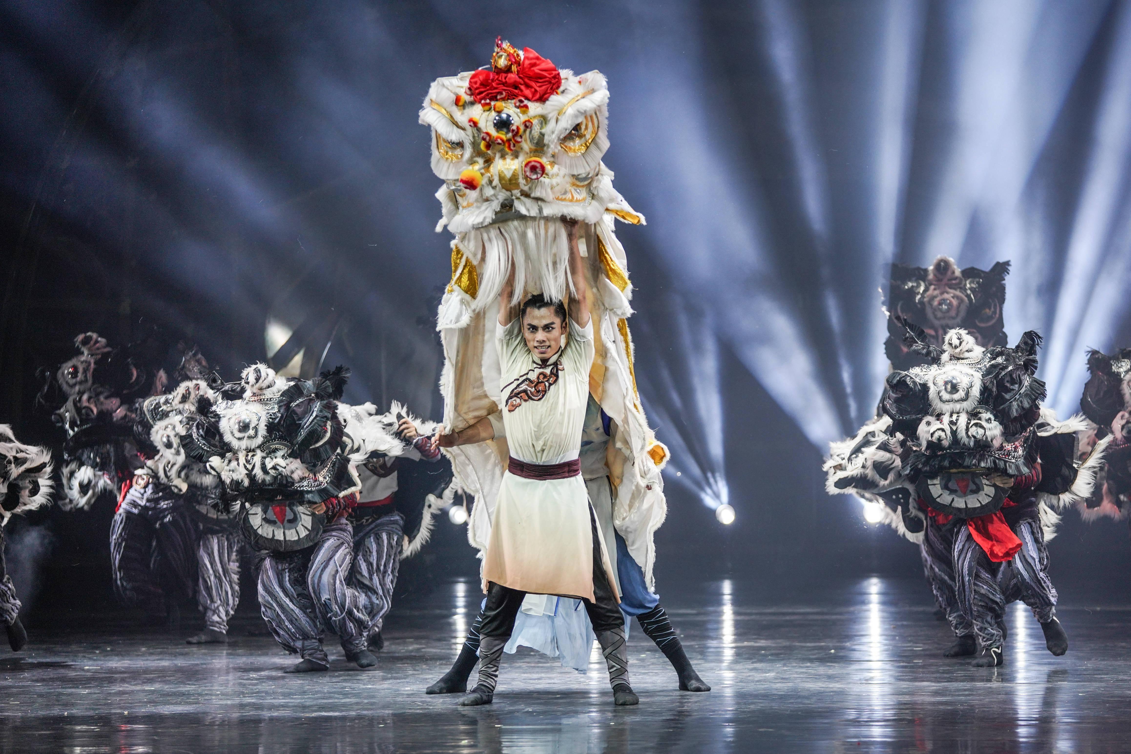 舞剧《醒·狮》将亮相国家大剧院,狮头用现代审美重作解构