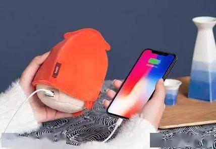 超萌暖手宝来袭!轻便易携带,恒温发热暖一天,还能给手机充电超实用