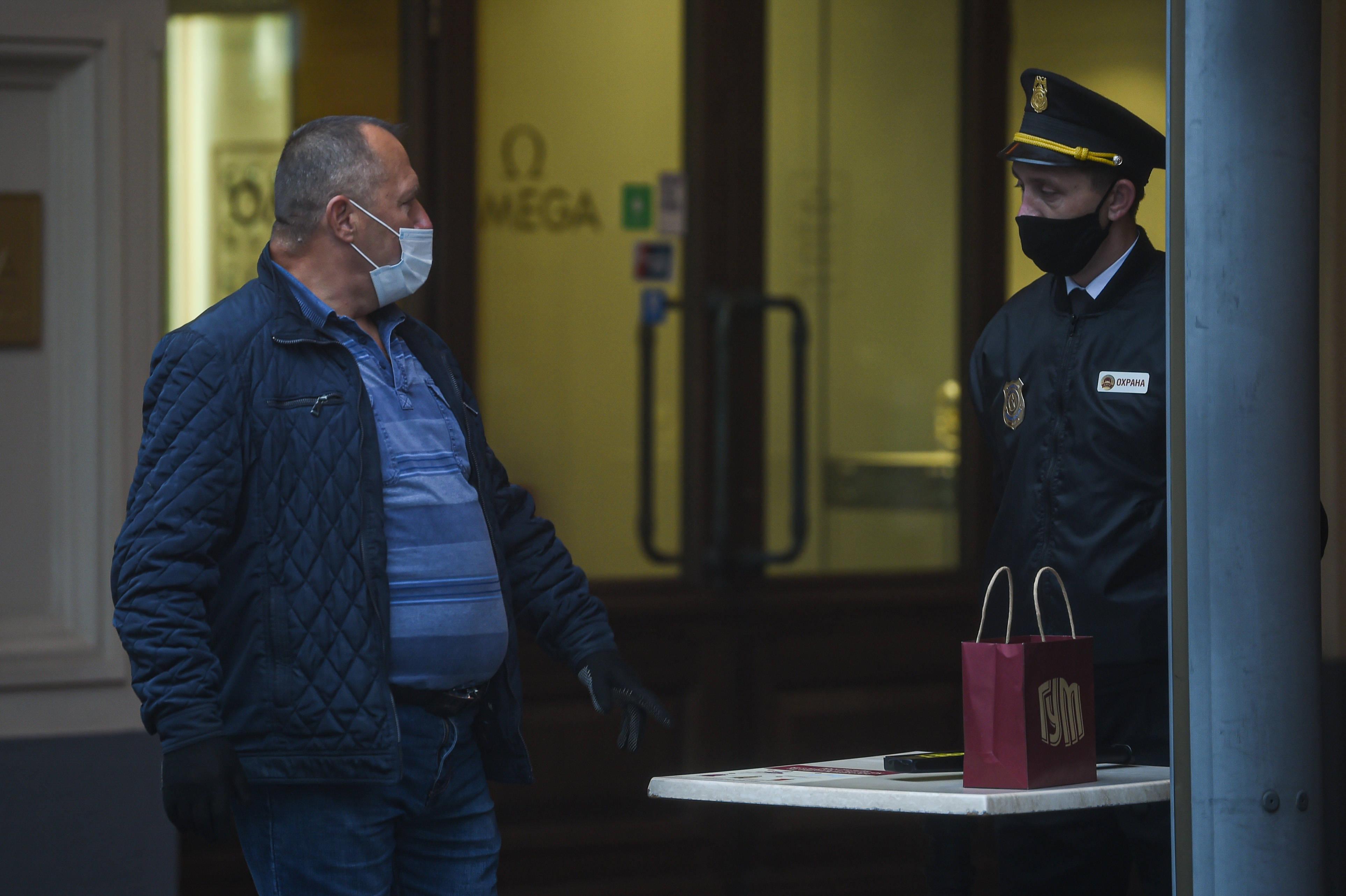 俄罗斯15150例新冠肺炎新确诊病例创单日新高