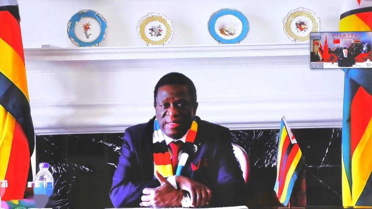 津巴布韦总统再次高度评价中国助津抗疫
