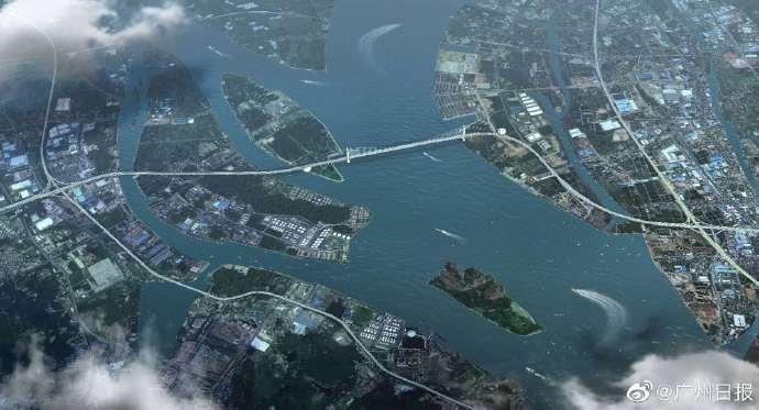 狮子海洋通道即将建成 新成员将加入粤港澳大湾区河穿越通道