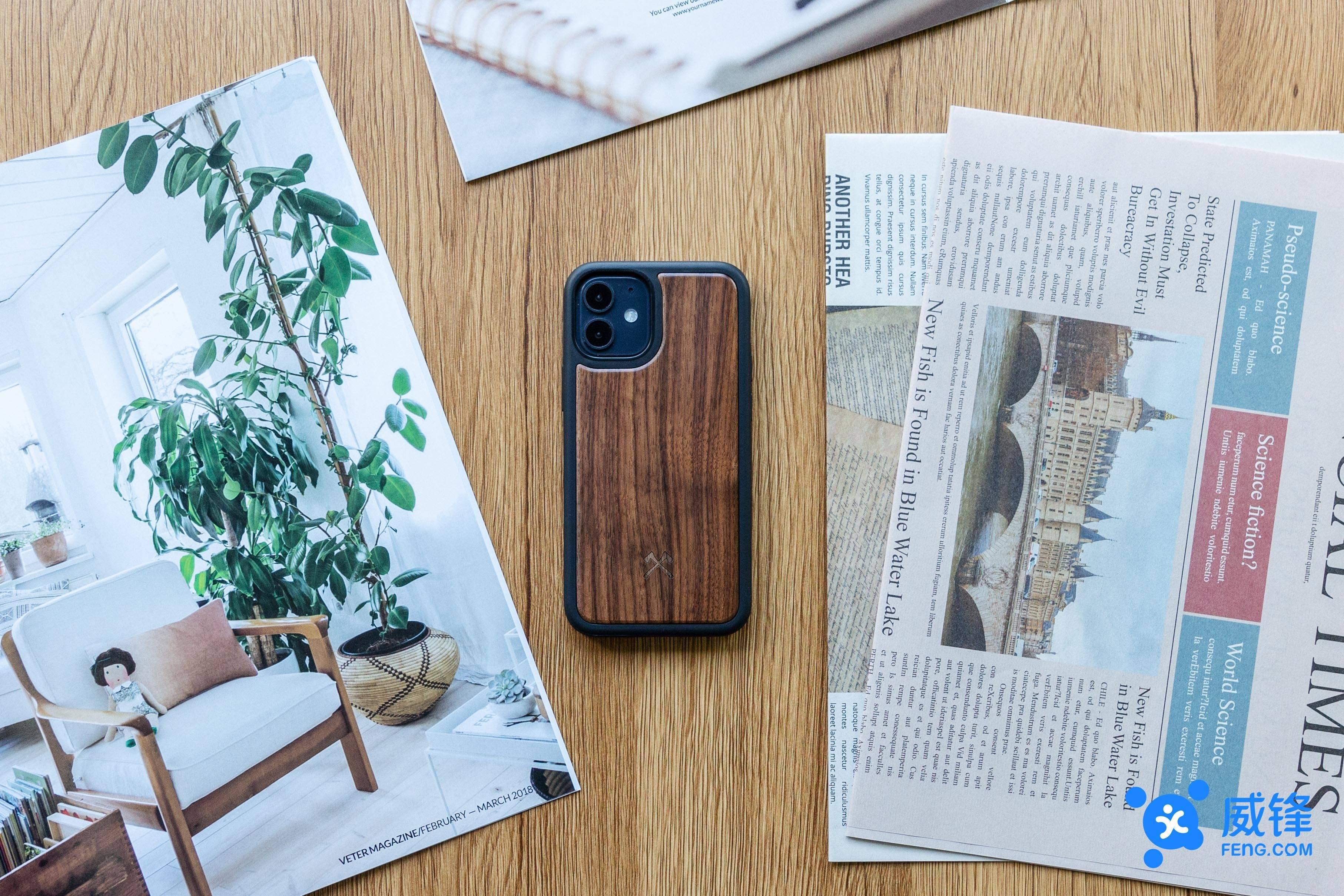 WOODCESSORIE 生态系列保护壳图赏:你的第一个 iPhone 12 保护壳?