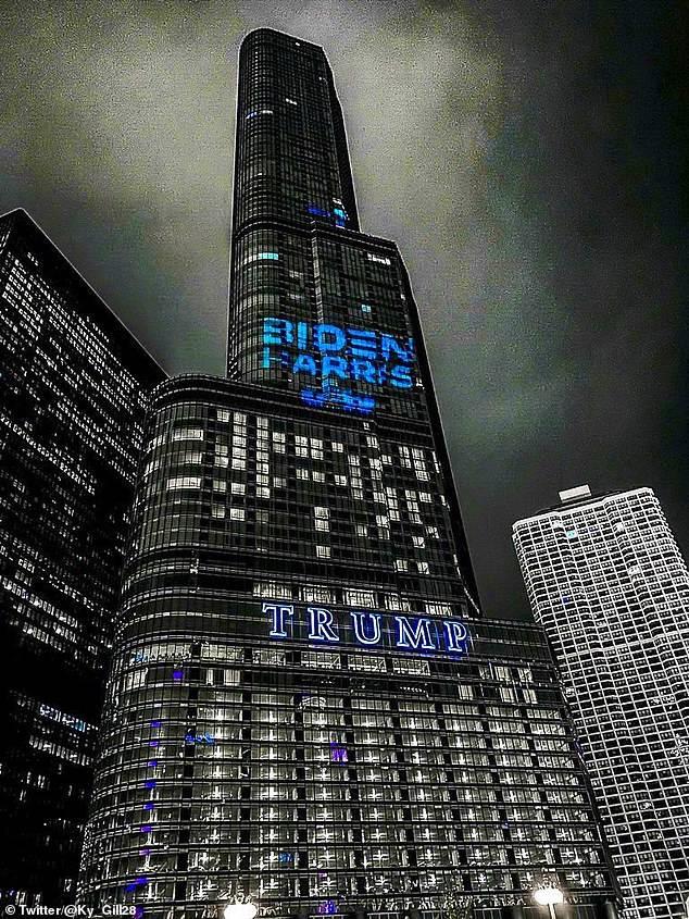 恒达首页男子自悬芝加哥特朗普大厦16楼外要求与总统面谈,否则自杀 (图4)