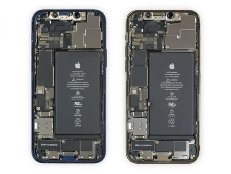 iPhone 12两款机型拆解:部分零件可互换 用料基本