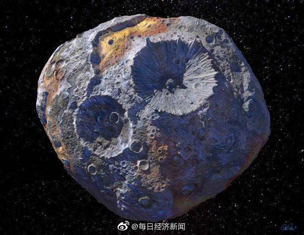 科学家用美元估值灵神星:灵神星价值约为1000万万亿美元