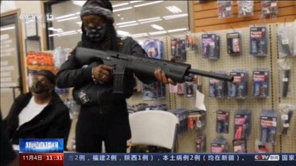 纽约上月平均每天发生4.5起枪案,同比增长121%