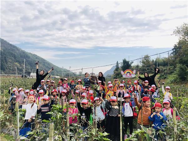 黟县渔亭幼儿园:走进蔬菜园 尽享丰收乐