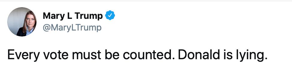 跌宕起伏第三夜,在推特上对特朗普所说的,白宫一些官员开始悄悄远离特朗普了