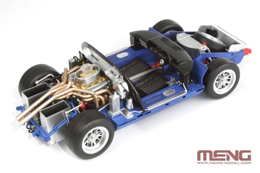 MENG RS-002福特GT40 Mk.II'66车模