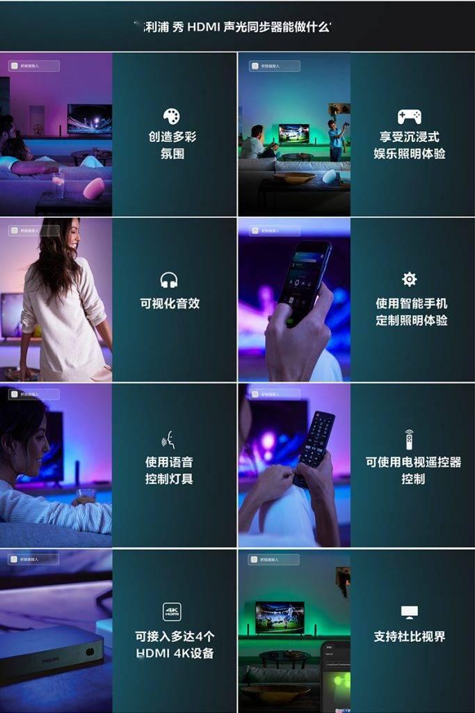 昕诺飞推出飞利浦 秀 HDMI 声光同步器,营造全景光娱乐体验