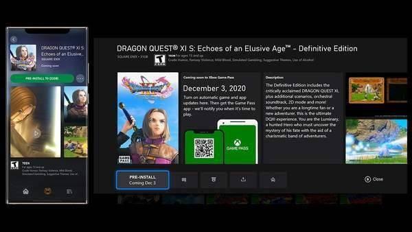 微软推送XGP服务更新 玩家可预加载
