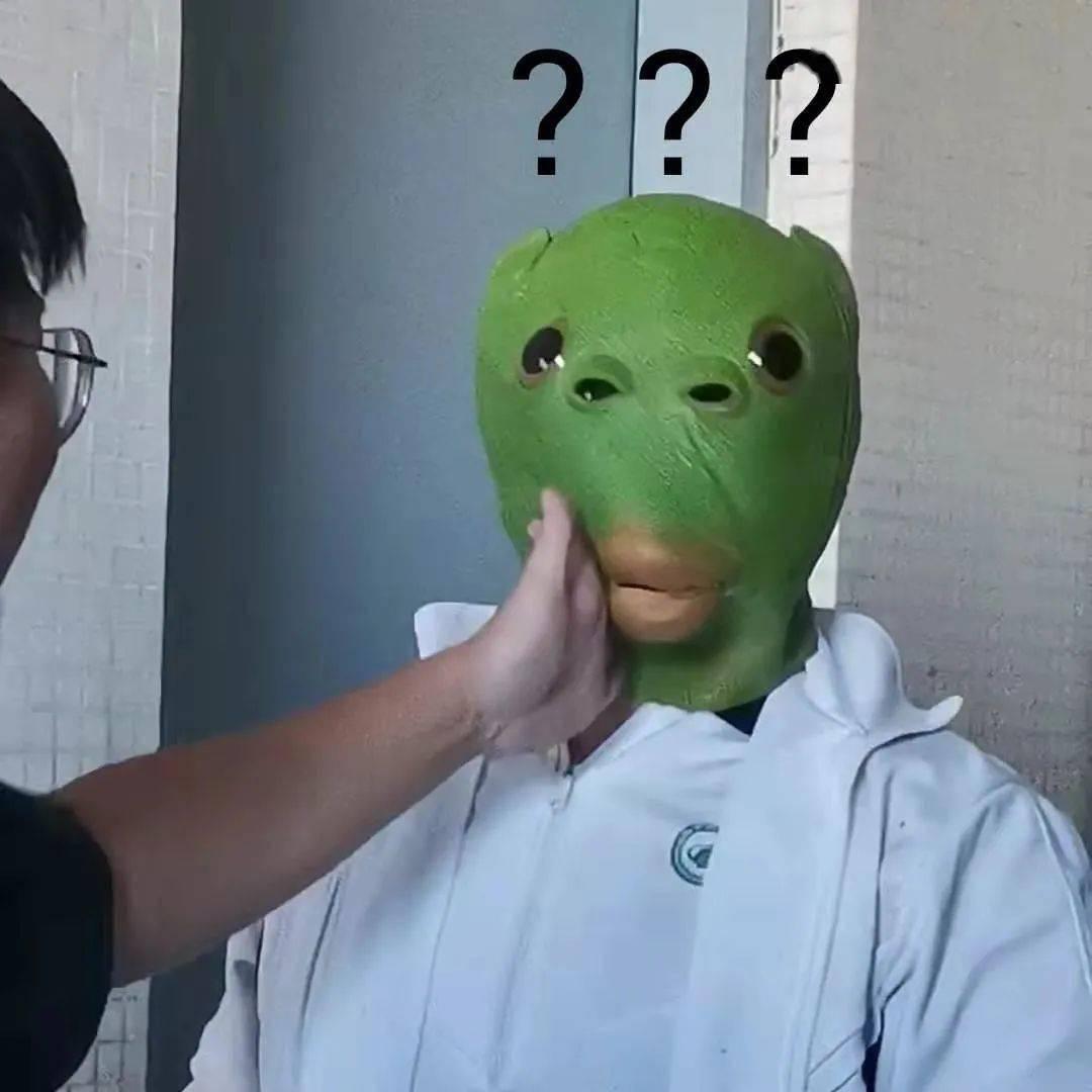 绿头鱼头像真人