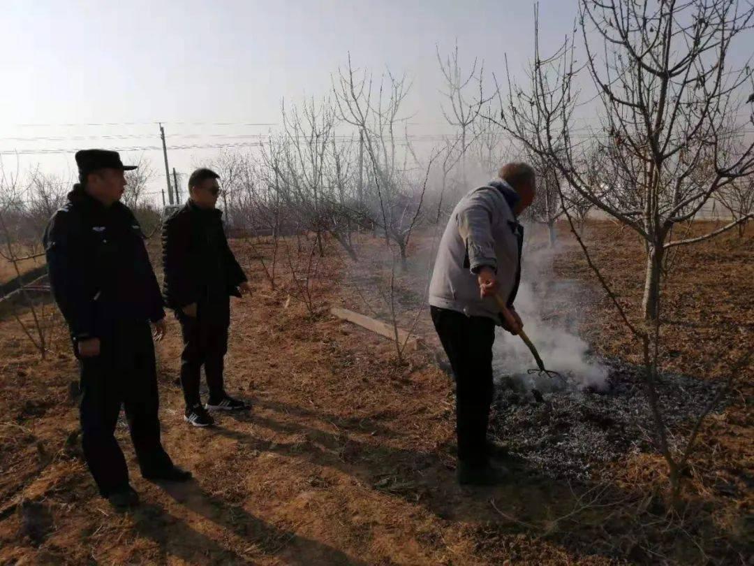合阳县和家庄、百良、甘井等发生多起露天焚烧案件...
