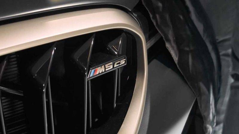 """635马力的""""5系"""" BMW M5 CS将于1月正式发布"""