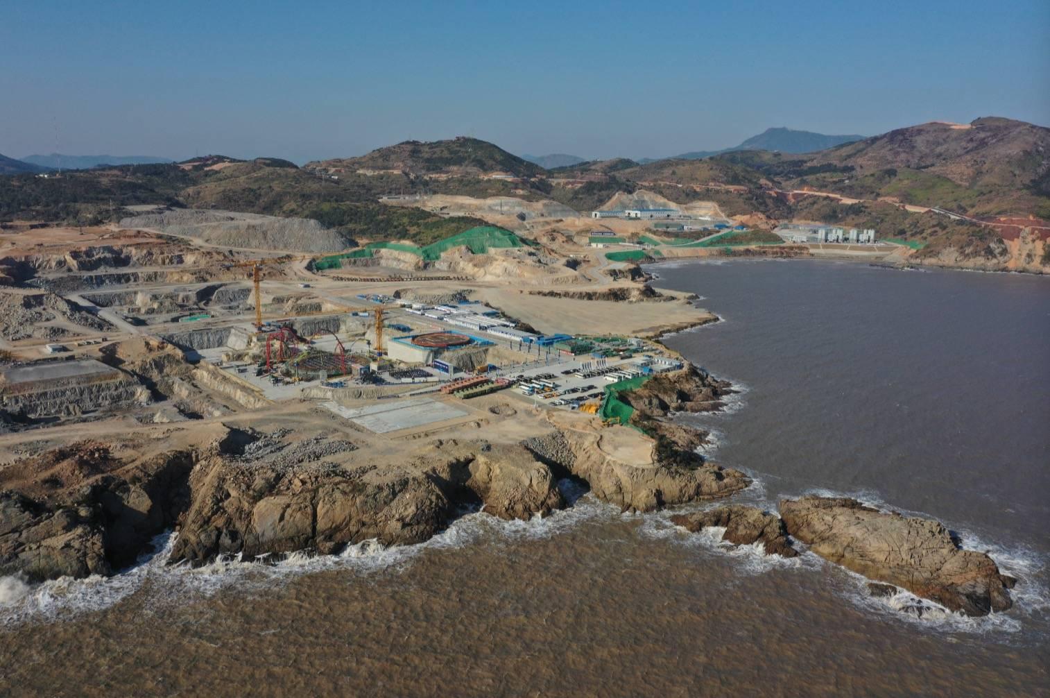 """长三角地区首台""""华龙一号""""开工,浙江诞生第三个核电基地"""