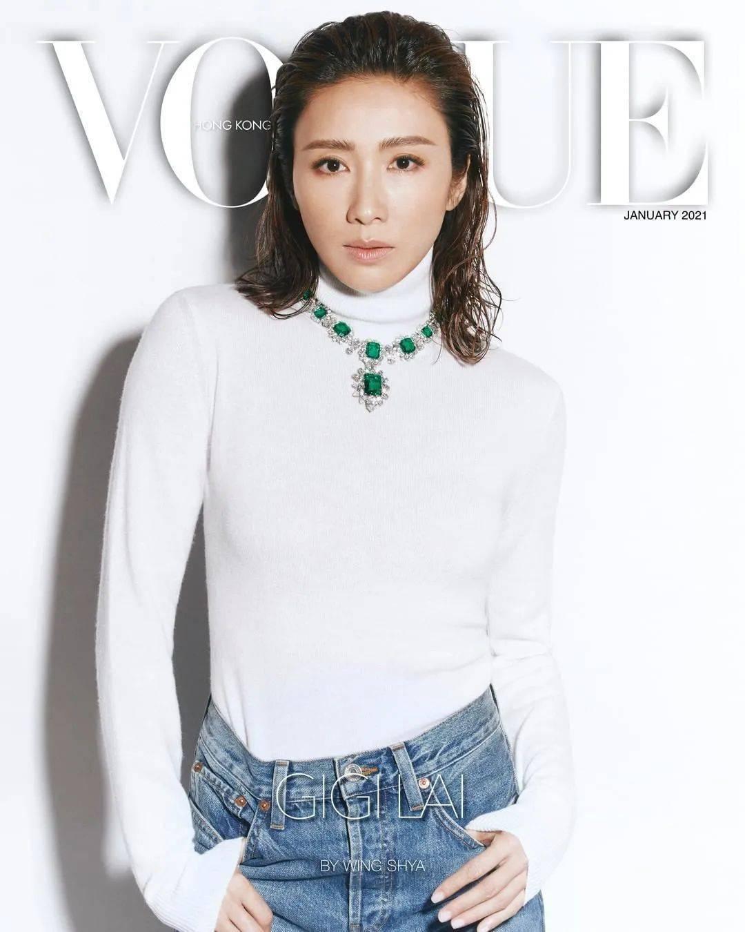 时隔13年,惊喜又回来了,香港女演员黎姿登上了香港版《VOGUE》的封面