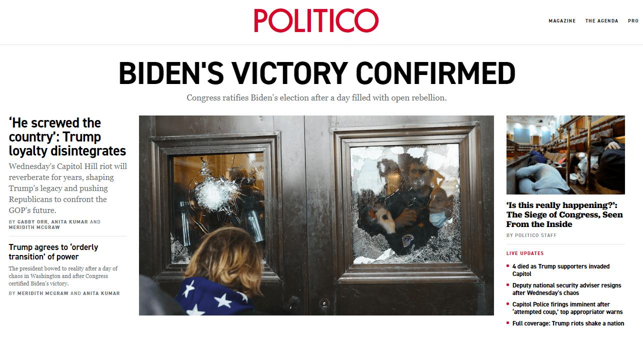 """""""拜登赢了"""",特朗普承诺""""有序""""交接,网友打了个颇具讽刺意味的比喻......"""