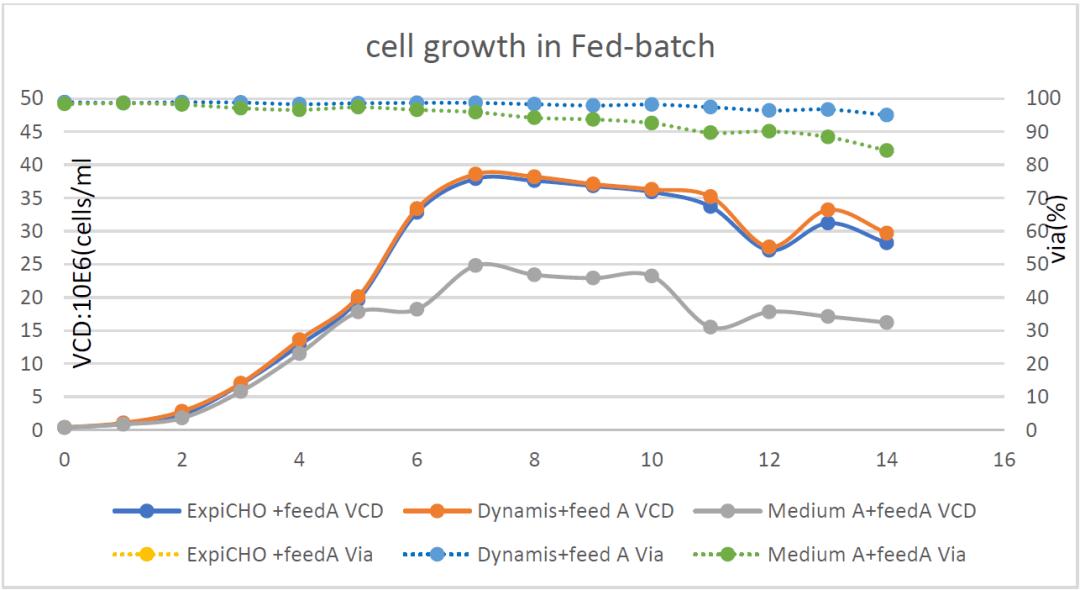 Gibco 新一代基础培养基在提高CHO细胞表达方面的应用