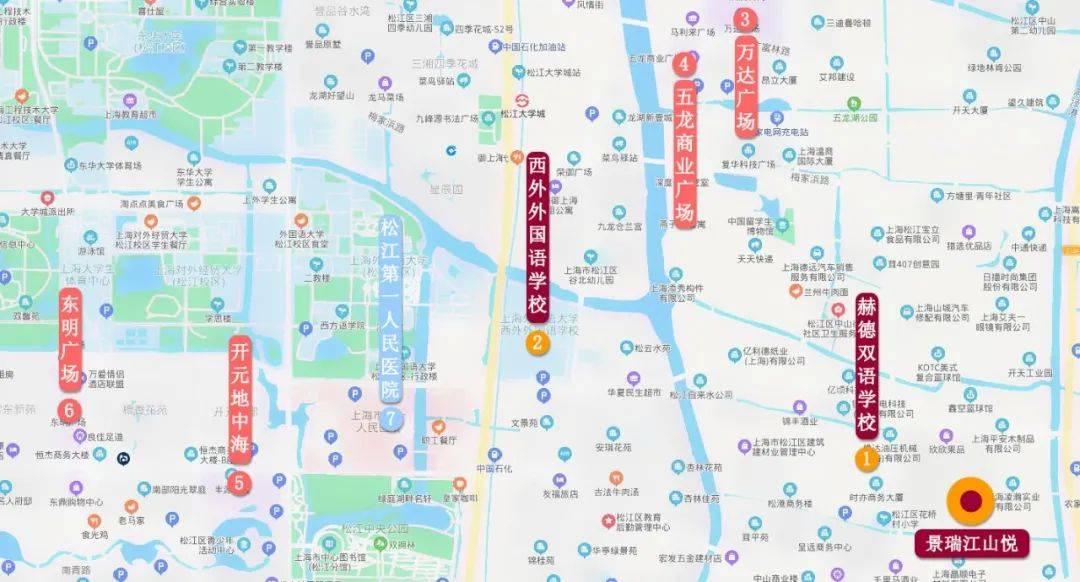 景瑞江山悦PK大名城映云间,松江新老城区两盘正面刚,你会选谁