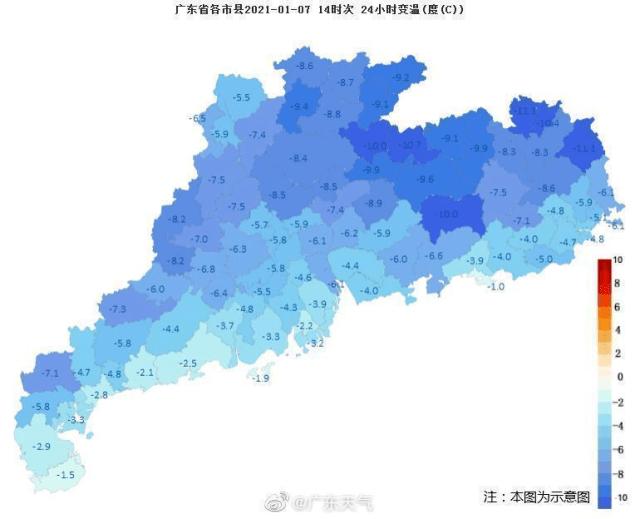 潮州启动防冻Ⅳ级应急响应!再发寒冷橙色预警!最低温将再次跌破0℃!!