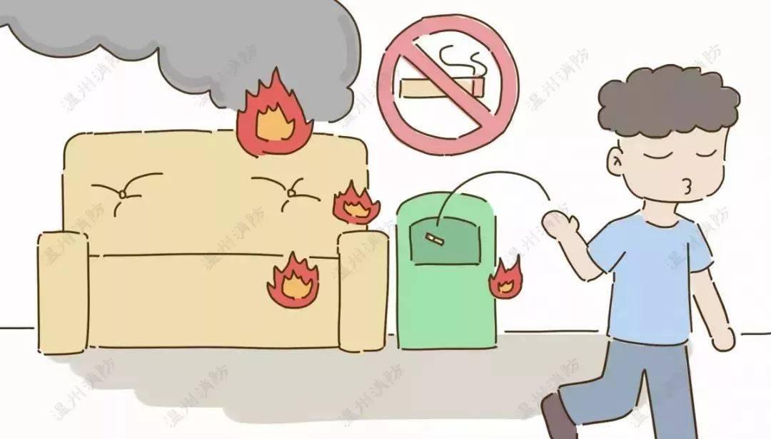 影响消防安全的日常十大不良行为,速速收藏!
