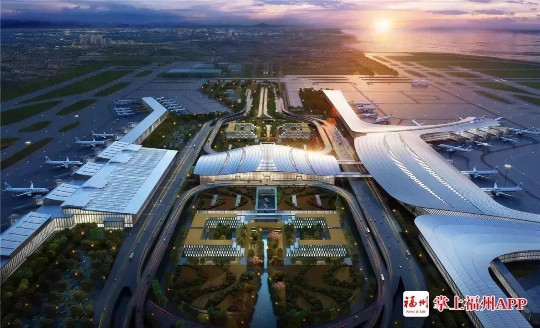 高铁进机场!长乐机场重磅配套工程今年6月开建!预留地铁线和城际铁路!