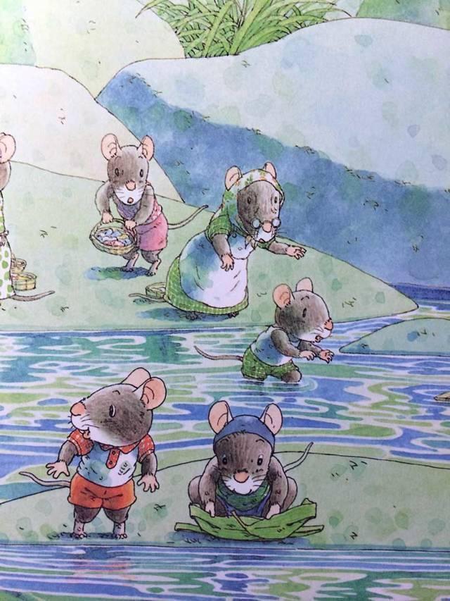 有声绘本:14只老鼠洗衣服  第9张
