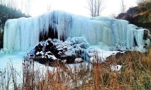 壮观!灵动!冬天专属!山西的冰瀑,绝美!  第9张