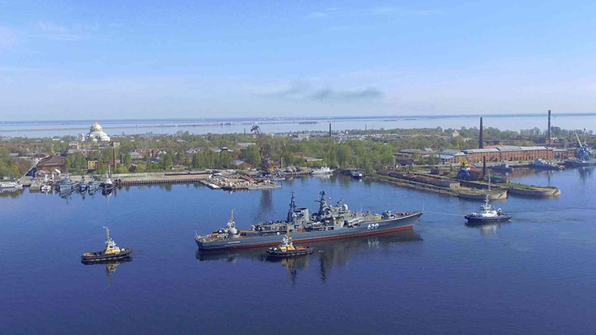 俄军退役现代级驱逐舰13吨重螺旋桨遭窃,前舰长涉嫌参与