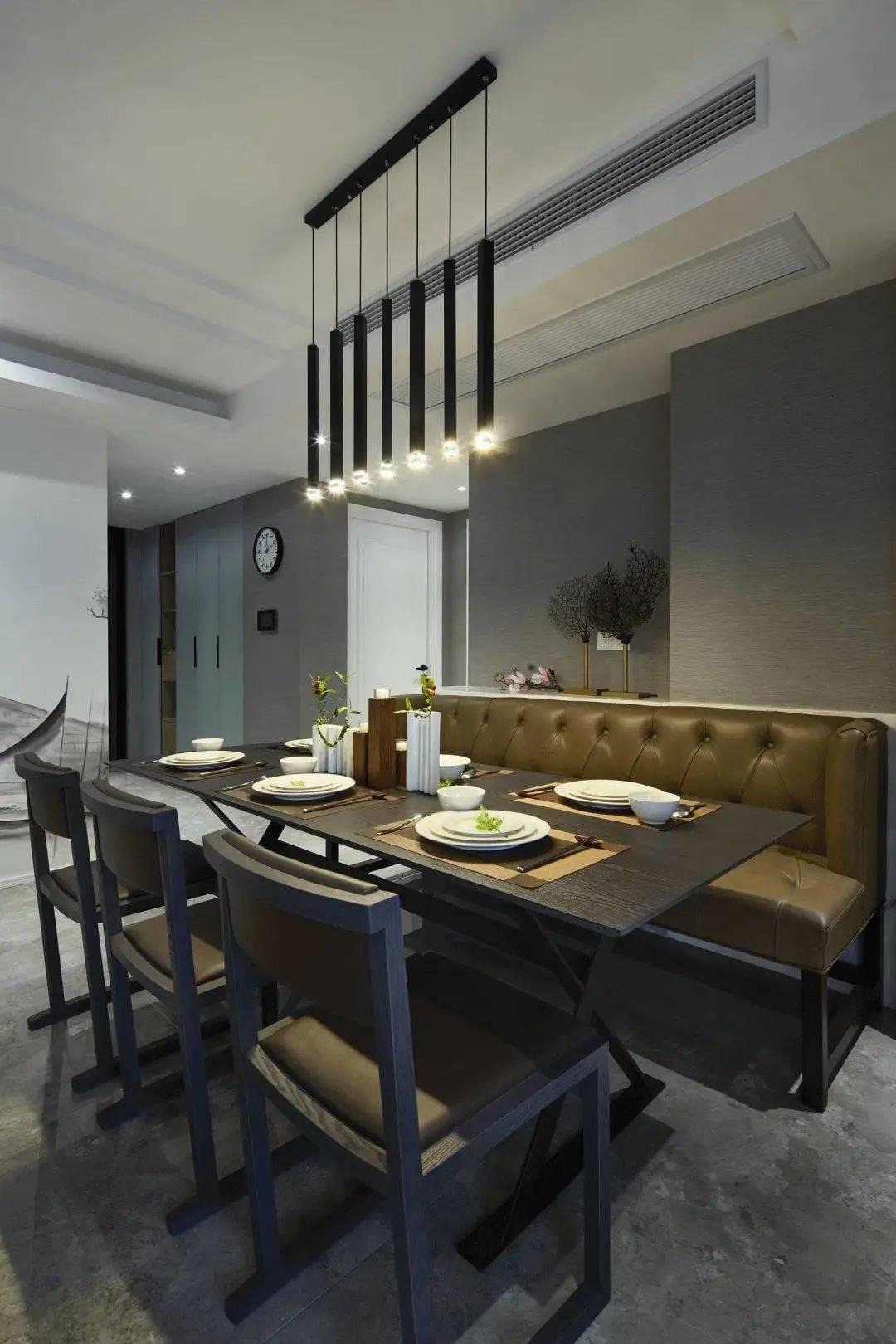 现代混搭风新房设计,装出的效果,端庄又大气,真不错