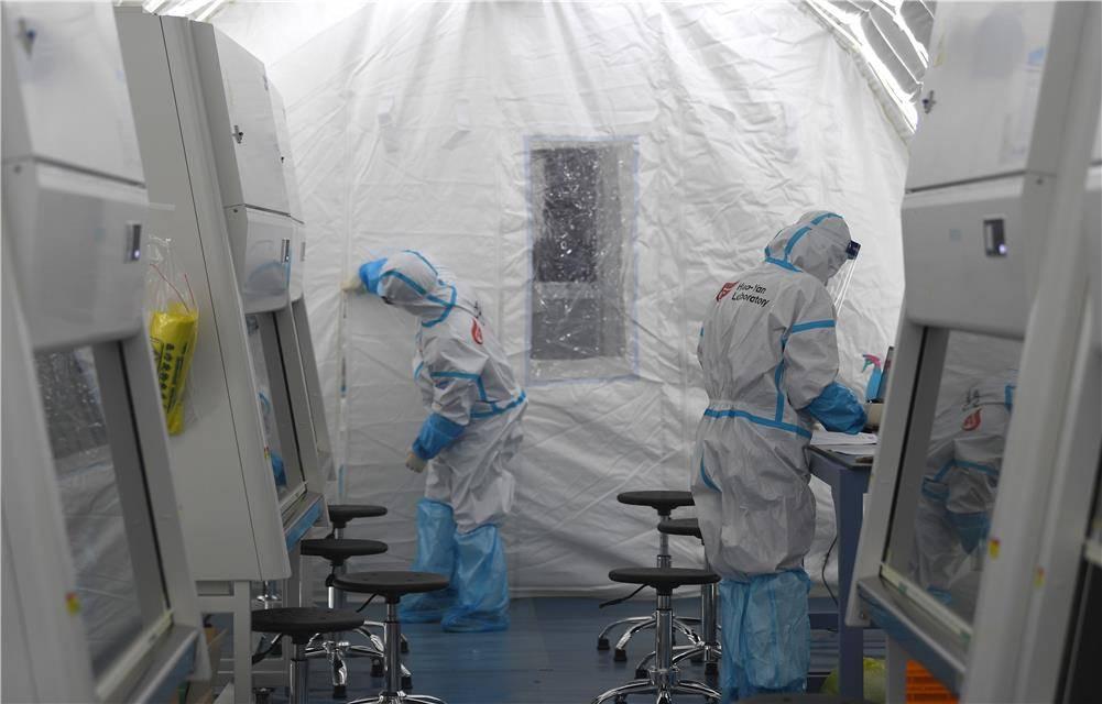 """你的核酸检测样本去哪了?探访石家庄""""火眼""""实验室"""
