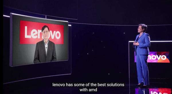 AMD苏姿丰现场对话联想杨元庆:锐龙本再掀高潮