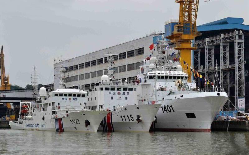新年第一巡!中国海警大吨位执法船1月13日巡航我钓鱼岛领海