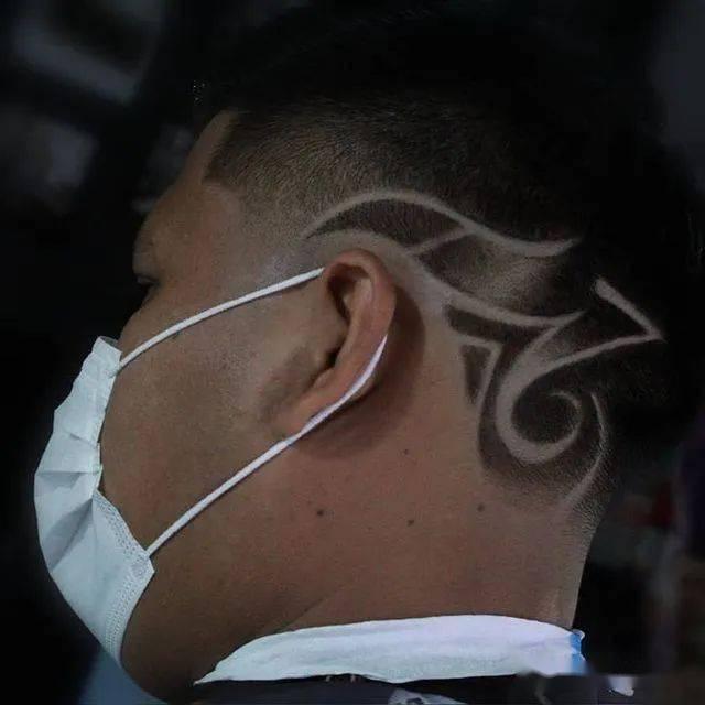 创意男士雕刻发型,每一款都很有型
