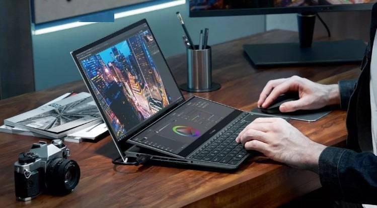 华硕推出第二代ZenBook Duo双屏笔记本:副屏幕增加倾角更好用