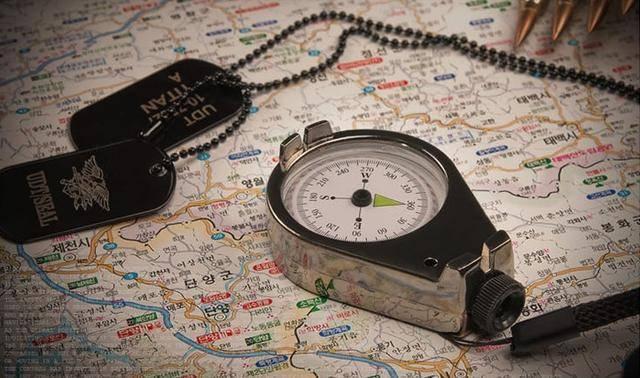 指南针怎么看图解(手机指南针怎么看方向)
