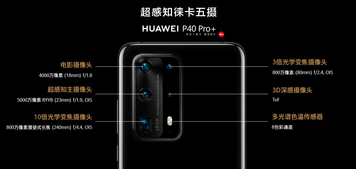 华为P40 Pro+首销:最高支持百倍变焦,7988元起的照片 - 2